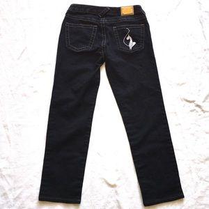 Baby Phat ankle jeans indigo size 7